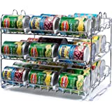 Stackable Can Rack Organizer, Storage for 36 cans - Great for the Pantry Shelf, Kitchen Cabinet or Counter-top. Stack Another