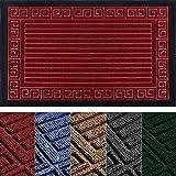 Heavy Duty Indoor Door Mat 29x17 - Welcome Mats for Front Door - Absorbing Doormat - Front Door Mat Outdoor - Non-Slip Welcom