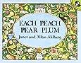 Each Peach Pear Plum (Picture Puffin Books)