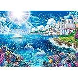500ピース ジグソーパズル ラッセン ミコノス ~ワールド トラベル~ 【光るパズル】 (38x53cm)