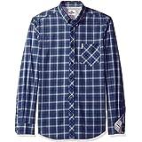 Ben Sherman Men's Longsleeve Tartan Shirt, Pigment