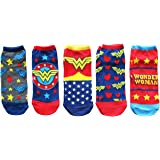 Hyp DC Comics Wonder Woman Classic Juniors 5 Pack Low Cut Ankle Socks