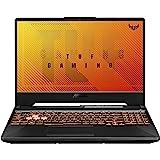 "ASUS TUF Gaming A15 Gaming Laptop, 15.6"" 144Hz FHD IPS-Type, AMD Ryzen 5 4600H, GeForce GTX 1650, 8GB DDR4, 512GB PCIe SSD, G"