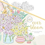 KaiserColour Perfect Bound Colouring Book-Ever Bloom
