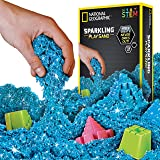 National Geographic NGSANDSB2 Sparkling Play Sand, 2 lbs, Blue