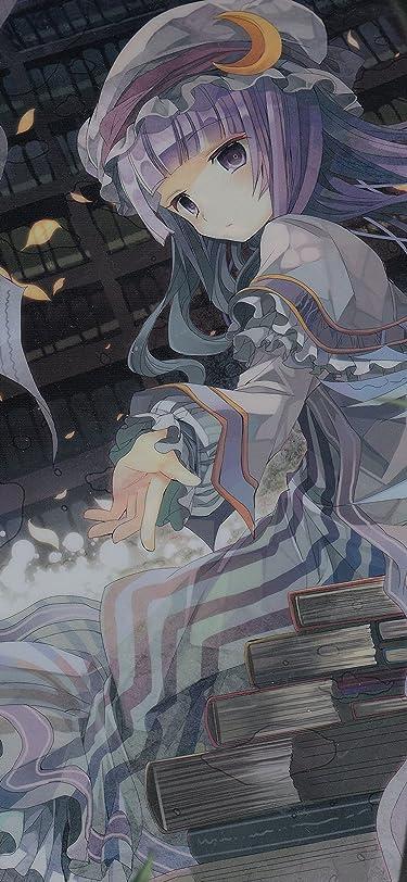 東方Project  iPhone/Androidスマホ壁紙(1125×2436)-1 - パチュリー・ノーレッジ