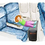Inflatable Travel Pillow Bed / Leg Rest For Kids to Lie Down & Sleep on Long Flights Long Distance Journeys in Cars on Buses