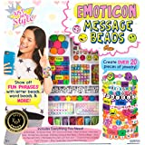 Just My Style Emoticon Message Beads by Horizon Group,DIY 20+ Jewelry Projects Using Symbols & Emoticons.Kit includes Word Be