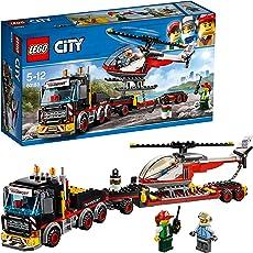 レゴ(LEGO) シティ 巨大貨物輸送車とヘリコプター 60183