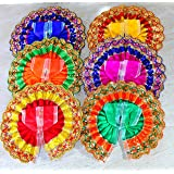 eSplanade Ladoo Gopal Poshak | God Dress | Bhagwaan Ki Poshaak | Dev Vastra - (Set of 6) - for Size 1 (Small/Medium Size) Lad