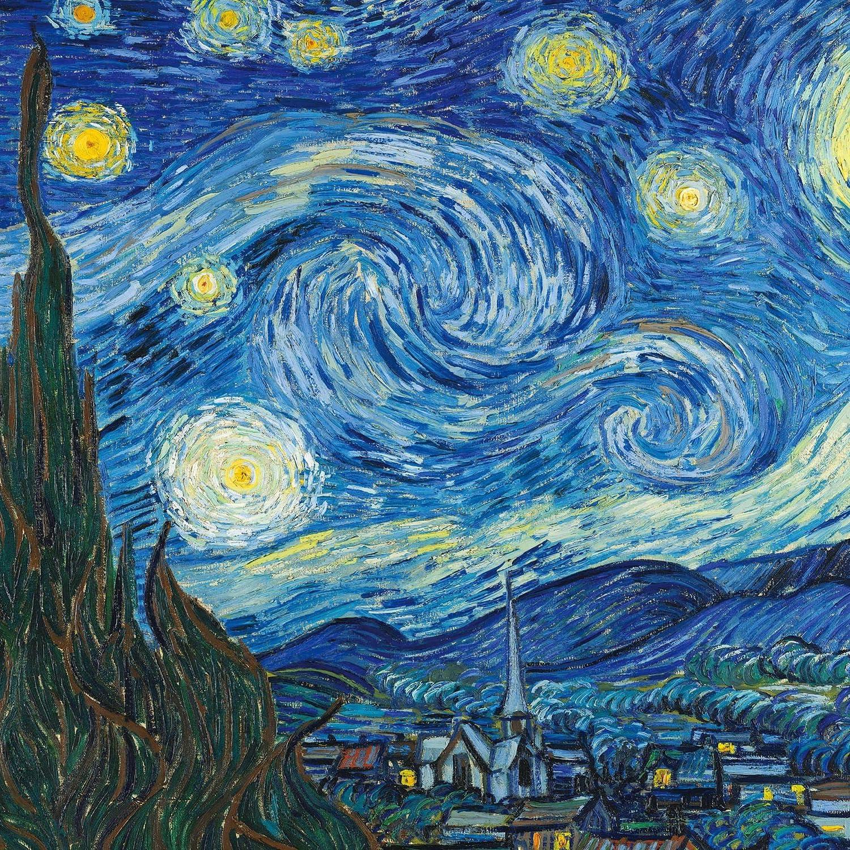 絵画 ゴッホ 星月夜 Ipad壁紙 画像48937 スマポ