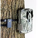 Trail Camera Lock by Guardian - Game Cam Tree Mount Holder Accessory and Heavy Duty Metal Security Locking Strap to Replace L