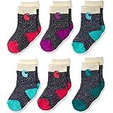 Carhartt baby-girls CHVA0014C6B2001 Camp Crew Sock-6 Pair Pack Casual Sock - multi - Shoe Size: