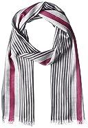 Arianna Cotton Stripe Scarf 3001