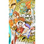 ONE-PIECE FVGA(480×800)壁紙 ルフィ,チョッパー,ナミ,ロビン