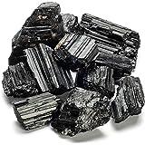 KALIFANO Black Tourmaline Bundle (500+ Carats) with Calming and Purification Energy - AAA+ Grade Turmalina Negra Reiki Healin