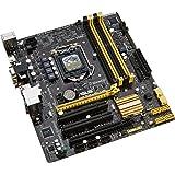 ASUSTek社製 ソケットLGA1150搭載 Micro ATX マザーボード H87M-PLUS