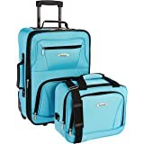 Rockland 2 Pc Luggage Set, Turquoise (Turquoise) - F145-PINK