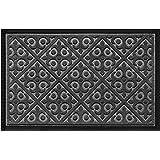 Door Mat Indoor Outdoor - Ideal Welcome mat or Front Door Mats - Entry Rug for Inside Outside - Non Slip Slim Profile Doormat