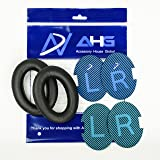 Replacement Ear Cushions for Bose Quiet Comfort 25 (QC25) Headphones. Complete with Original Style QC25 scrims AHG Blue/Black