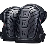 NoCry Professional Knee Pads with Heavy Duty Foam Padding and Comfortable Gel Cushion, Strong Double Straps and Adjustable Ea