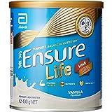 Abbott Ensure Life Complete Balanced Nutrition Milk Powder with HMB - Vanilla - 400g
