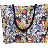 Disney Tote Bag Princess and Villains Belle Maleficent Cinderella Ursula Ariel