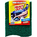 Mr Clean Heavy Duty Sponge Scourer, 4ct