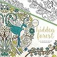 "KaiserColour Perfect Bound Coloring Book 9.75""X9.75""-Hidden Forest"