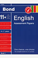 Bond Fourth Papers in English 10-11+ Years Paperback