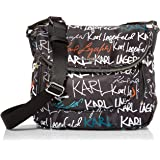 Karl Lagerfeld Paris Cara Flap Messenger Bag