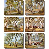 Cinnamon CMC381 Redgum Country Drink Coasters