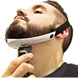 Aberlite Beard Shaper - FlexShaper Neckline Guide - Hands-Free & Flexible - The Ultimate Neckline Beard Shaping Template - Be