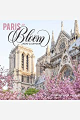 Paris in Bloom 2020 Wall Calendar Calendar