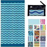 Elite Trend Microfiber Beach Towel for Travel:Oversized XL 78 x 35 Inch Quick Drying, Lightweight, Fast Dry Shower & Body Tow