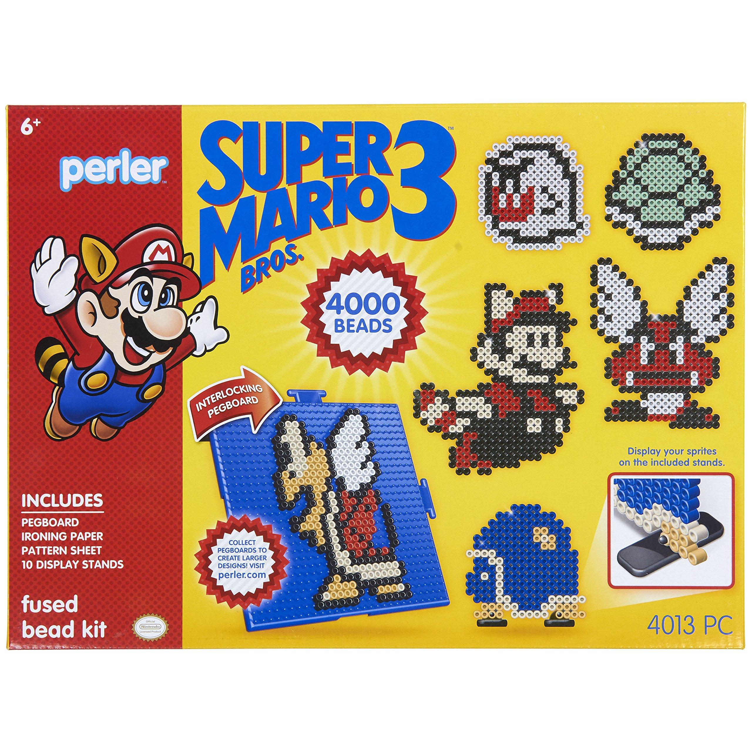 4503Pc Perler Beads Marvel Avengers Pattern and Fuse Bead Kit 10 Patterns