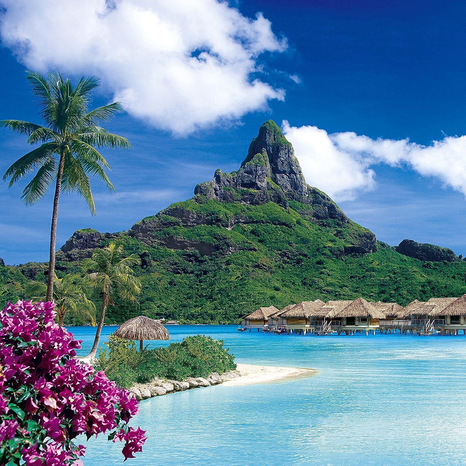 絶景 南洋の楽園ボラボラ島 ポリネシア Ipad壁紙 画像38477 スマポ