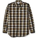 CARHARTT Men's Hubbard Flannel Long Sleeve Shirt (Regular and Big & Tall Sizes)