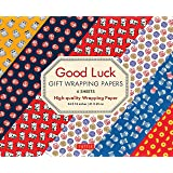 Good Luck Gift Wrapping Papers - 6 Sheets: 6 Sheets of High-Quality 18 x 24 inch Wrapping Paper