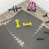 Multipurpose Anti-Fatigue Exercise Puzzle Mat Tiles