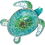"Regal Art & Gift 20272 Mosaic Sea Turtle Wall Decor 18"" Garden Décor, Multi"
