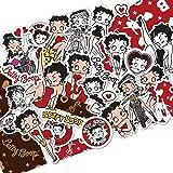 ステッカー ベティー ブープ(TM) ベティーちゃん ステッカー グッズ シール 正規品 Betty Boop(TM) おしゃれ 可愛い 人気