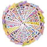 Cute Cool Kids Sticker Pack - 1650 + Sticker Scrapbooking Supplies / Party Favors for Adults, Teens, Toddlers, Girls and Boys