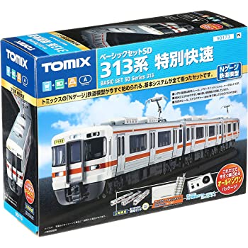 TOMIX Nゲージ ベーシックセットSD 313系 特別快速 90173 鉄道模型 入門セット