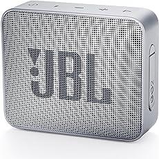 JBL GO2 Bluetoothスピーカー IPX7防水/ポータブル/パッシブラジエーター搭載 グレー JBLGO2GRY 【国内正規品/メーカー1年保証付き】