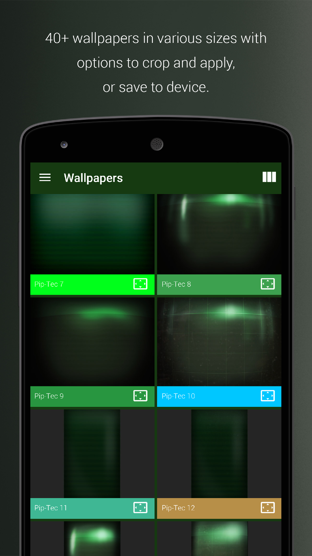 Amazon piptec green icons widgets live wallpaper voltagebd Choice Image