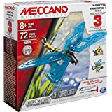 Meccano, 3 Model Building Set, Insects, 72 Pieces, for Ages 8+, STEM Construction Education Toy