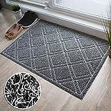 BrigHaus Extra Large Outdoor Indoor Door Mat   Non-Slip Heavy Duty Front Welcome Doormat Rug, Outside Patio, Inside Entry Way