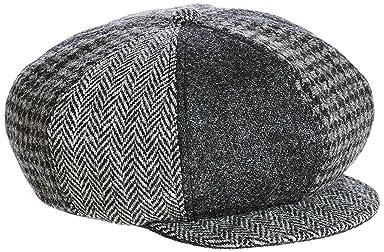 Harris Tweed Newsboy Cap 11-41-2773-017: Grey
