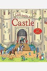 Look Inside a Castle Hardcover